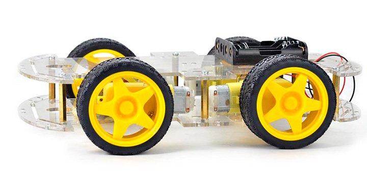 роботизированная платформа на колесах