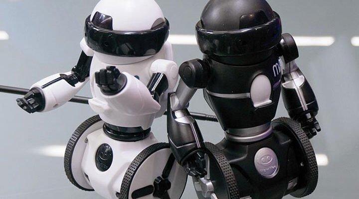 автономное управление роботом