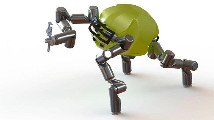 робот из полиформа