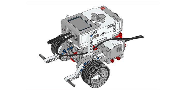 мобильная платформа Lego EV3