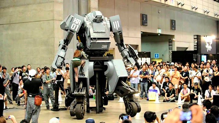боевой робот Куратос