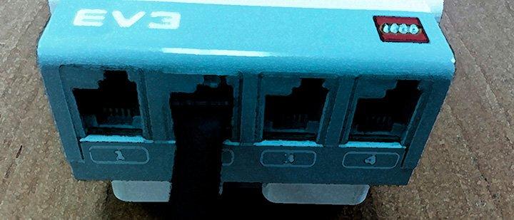 Порт контроллера Lego EV3