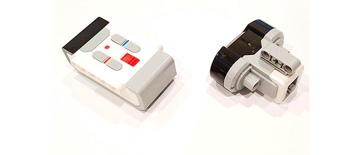 маяк и датчик EV3