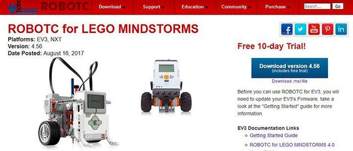 RobotC для EV3