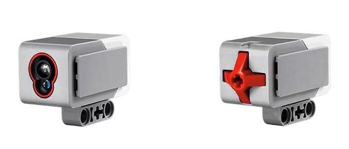 Датчик цвета EV3 и датчик касания EV3