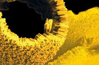 Крупицы нанозолота