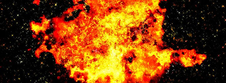 Создание вселенной при помощи большого взрыва