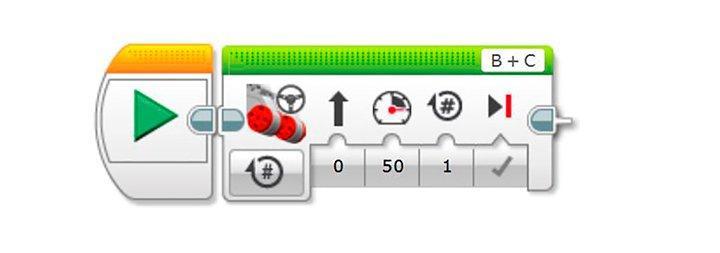 Блок программирования Рулевое управление моторами