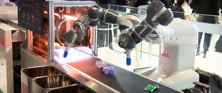 Робот мусорщик для сортировки