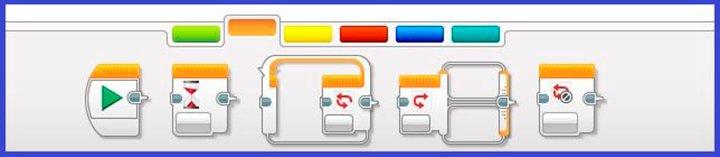 управление операторами Lego Education EV3